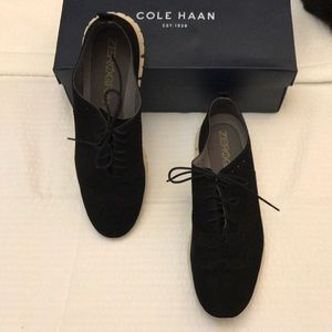 Cole Haan Zero Grand black suede loafer. Size 11